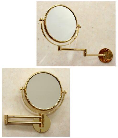スペイン製拡大鏡 アームミラーWi141ゴールド3倍率